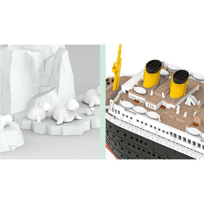 Suyata SL-002 Titanic Seal Iceberg//Port Vehicle Scene Q Edition Model Kit