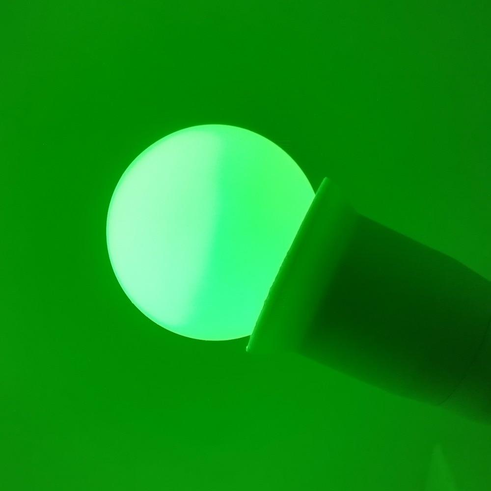 Купить с кэшбэком 20Pack 12V 220V LED Bulb E27 G45 Mini Night Light for Table Lamp Wall Lamp Garden Party Wedding Home Decor Green Blue Red White