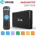 X96H Android 9 0 ТВ-бокс 4 Гб 64 Гб H603 четырехъядерный 6K 2 4G 5G двойной Wifi BT4.1 Google Player Youtube телеприставка X96 H 4 ГБ 32 ГБ TX6