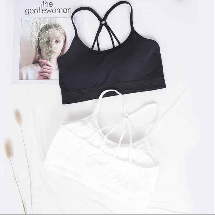 2020 חדש הגעה רצועת תחרה סקסי נשים מקרית הלבשה תחתונה תחתונים נוחים תחרה Bralette חזיות חזייה wirefree חזיית יבול למעלה