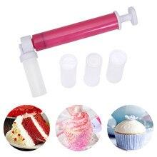 Ручной пистолет-распылитель для торта, распылитель для торта, инструменты для украшения выпечки, мини-кондитерский распылитель для торта