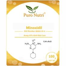 Minoxidil-Powder Pharmaceutical-Grade Hair Regrowth Anti-Hair-Loss Stimulation USP41