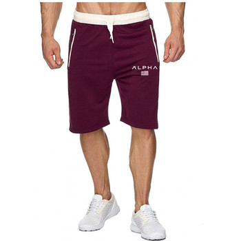 цена на Drawstring Shorts Men Casual Beach Summer Elastic Waist Shorts Men Cotton Plus Size Loose Letter Printed Male Short Hot
