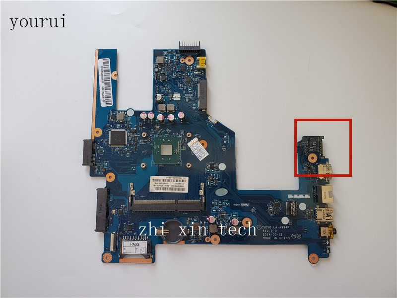 yourui For HP 15-R 15T-R Laptopmotherboard <font><b>ZS050</b></font> <font><b>LA</b></font>-<font><b>A994P</b></font> with N2840 CPU Fully tested image