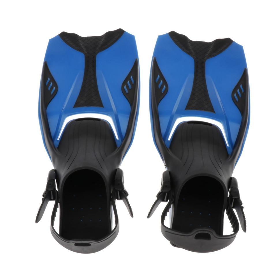 Details about  /Snorkeling Fin Spring Heel Strap Diving Open-Heel Flipper Straps Blue XS