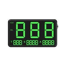 Цифровой Автомобильный GPS измеритель скорости C80, дисплей скорости км/ч, миль/ч, для велосипедов, мотоциклов, HUD