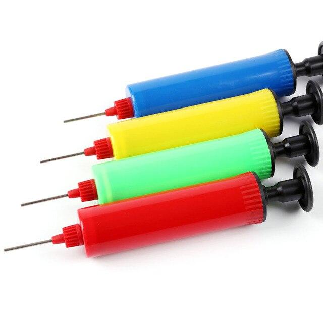 1PC Random Color Hand Air Pump Needle Inflator for Football Basketball Ball Team Sports Entertainment Basketball