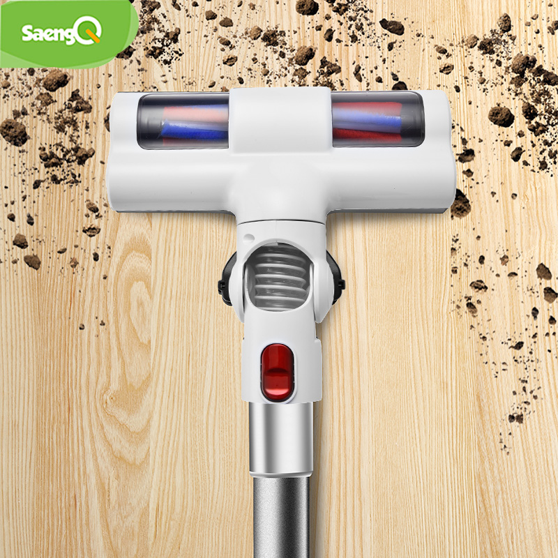 SaengQ Handheld Vacuum Cleaner Household Strength Dust Collector Home Aspirato  23000Pa Portable 2 In 1 Handheld Vacuum Cleaner