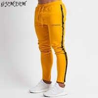 Hommes pantalons 2019 coton pantalons décontractés en plein air mode streetwear vêtements pour hommes survêtement fitness vêtements de sport marque pantalons de sport