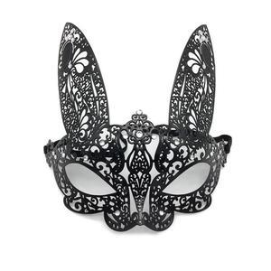 Сексуальная Маскарадная маска из кружева для карнавала, Хэллоуина, металлические полулицевые Вечерние Маски, праздничные вечерние товары, ...
