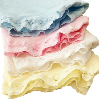 10pcs/lot Girls Boxer Kids Safty Shorts Panties Pure Cotton Solid Lace Boxers Underwear for Girls Boutique Underpants