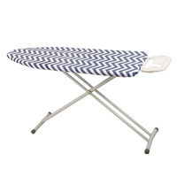 Home Striped Cotton Ironing Board Cover 150x50cm High Temperature Resistant|Ironing Board Covers| |  -