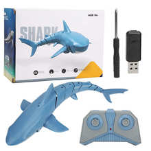 Toy Aircraft-Carrier Shark-Boat Remote-Control Ship Waterproof 1:18 Usb-Rechargeable