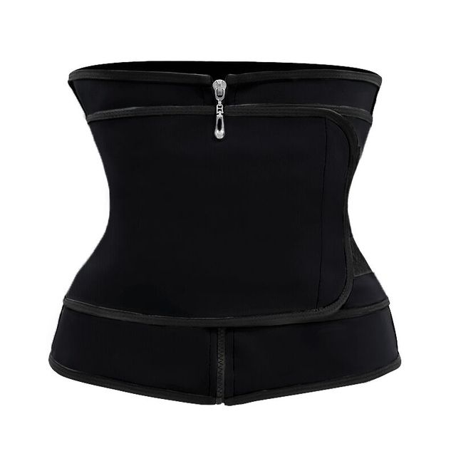 4 Colors Slimming Belt Corset Sweat Waist Trainer Slimming Body Shaper Women Tummy Control Belt Firm Breathable Health Care Tool 1