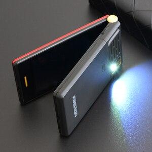"Image 5 - Tkexun הכפול מסך 2.8 ""מגע תצוגת Flip טלפון ארוך המתנה SOS מהירות שיחת גדול מפתח BT 2.0 רשימה שחורה לפיד שני קייס חינם"