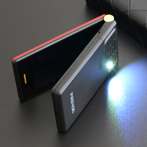 """Image 5 - Tkexun double écran 2.8 """"écran tactile téléphone à rabat longue veille SOS vitesse appel grande clé BT 2.0 liste noire torche deux Sim étui gratuit"""