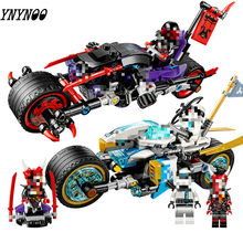 Legoinglys Ninjagoing Mailackers 06074 Street Race งู Jaguar 308Pcs Building Blocks ของเล่นเด็ก 70639(China)