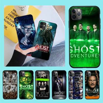 NBDRUICAI American documentary Ghost Adventures Phone Case Cover Hull for iPhone 11 pro XS MAX 8 7 6 6S Plus X 5S SE XR case image