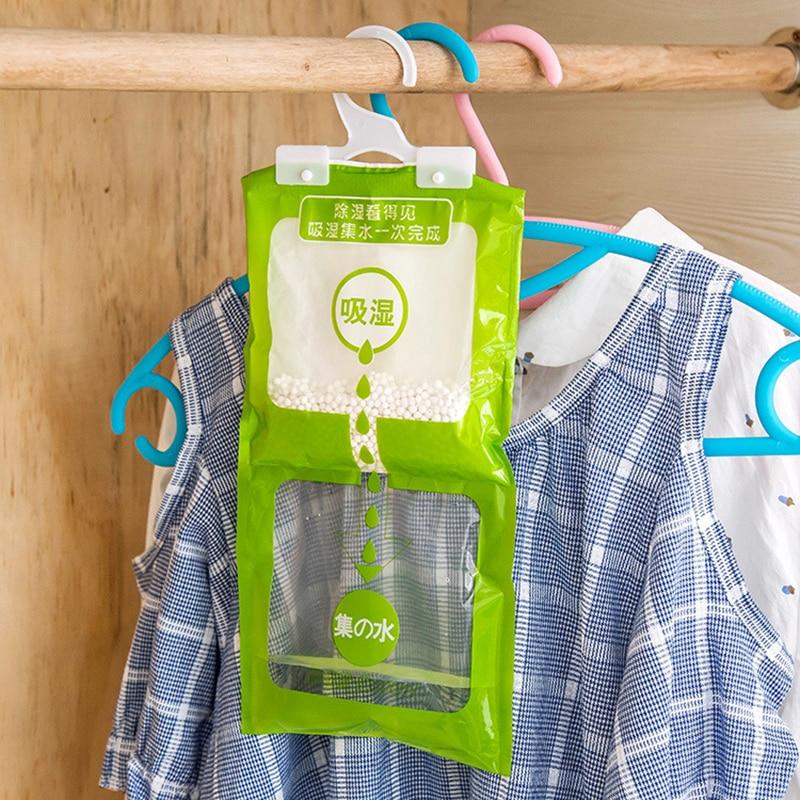 Sensible Household Hanging Moisture-proof Bag Closet Cabinet Closet Dehumidifier Desiccant Moisture-proof Mildew Desiccant Bag High Quality