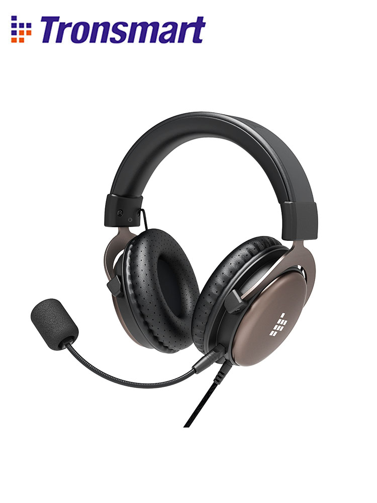 Tronsmart Sono Gaming Headphones Headset Gamer Wired Headphones for computer with Mic for PS4Xbox OneSwitch and Mobile Devices