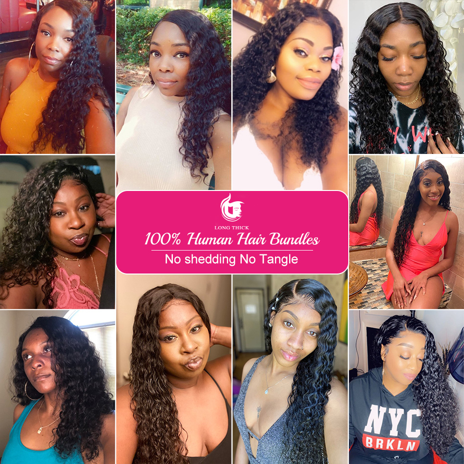 360 Lace Frontal Wig Full Lace  Wigs    Loose Deep Wave Frontal Wig Curly  Wig 5