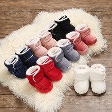Crib-Shoes Floor-Boots Bootie Toddler Newborn Baby Winter Infant Warm Unisex 0-18M First-Walkers