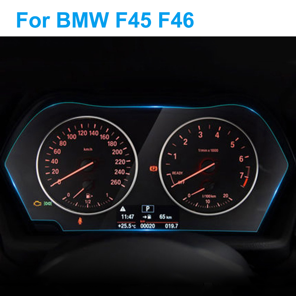 Car Instrument Panel Screen Protector For Mercedes BMW F45 F46 Gran Active Tourer 2 Series Interior Protective Film Accessories