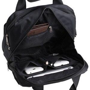 Image 4 - Hommes sac 2020 mode hommes sacs à bandoulière de haute qualité Oxford ceinture décontractée sac de messager affaires hommes fermeture éclair sacs de voyage XA157ZC