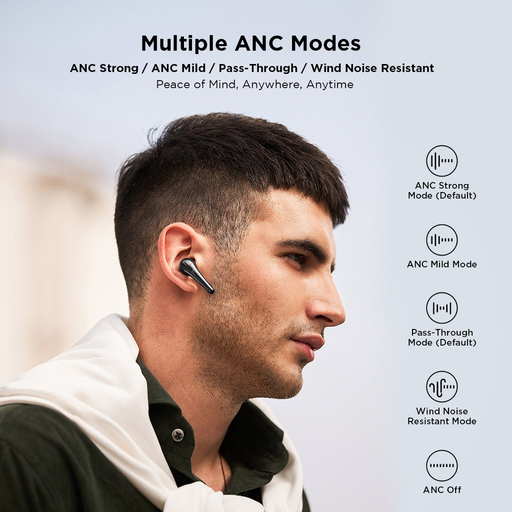 1MORE ComfoBuds Pro ES901 Беспроводные наушники Bluetooth 5.0 2