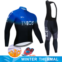 Cycling Jersey 2020 Pro team INEOS Winter Polar cycling Jersey MTB cycling pants suit clothes bike triathlon cycling set