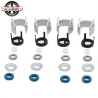 NEW 06H 998 907 A EA888 Fuel Injectors Seals O Ring Repair Kit For VW Golf Jetta Passat Audi A4 A6 Q5 TT 1.8/2.0TFSI 06J998907D