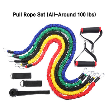 Ho 11pcs Set Resistance Bands Pull Rope for Home Gym Equipment Workout Fitness Exercise Resistance Training Accessories CUN 668 tanie i dobre opinie Unisex Mięśni relex aparatura Ciągnąć liny Sports252200