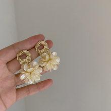 Женские серьги гвоздики aensoa корейские элегантные полимерные
