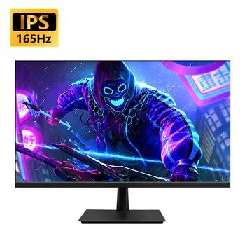 MUCAI 27 Inch PC IPS Monitor 144Hz LCD Display HD 165Hz Desktop Gaming Computer Screen Flat Panel HDMI/DP 1