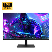 MUCAI 27 Cal PC Monitor IPS 144Hz wyświetlacz LCD HD 165Hz pulpit komputer do gier ekran płaski Panel HDMI/DP
