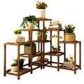 Holz Blume Airs Haushalt EINE Wohnzimmer Regal Multi-stöckige Innen Grün Rettich Fleisch Landung Typ Topfpflanze Blumentopf rahmen