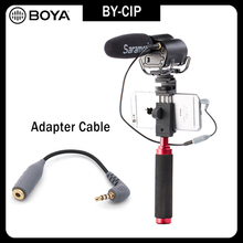 BOYA BY-CIP 3.5mm to TRRS TRS Microphone Cable Adapter for iPad iPod Touch iPhon