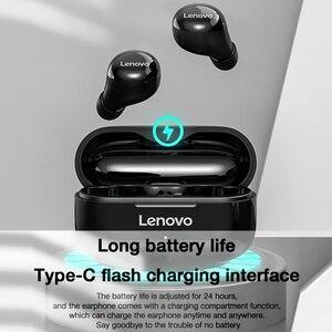 Image 3 - 레노버 LP11 TWS 미니 블루투스 이어폰 무선 헤드폰 9D 스테레오 스포츠 방수 이어 버드 헤드셋 마이크 레노버 XE05