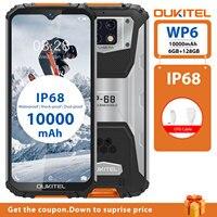 "OUKITEL WP6 6G RAM 128G ROM 6.3 ""Smartphone Octa Core IP68 Wasserdichte 9V/2A 10000mAh Batterie 48MP Triple Kamera Handy-in Handys aus Handys & Telekommunikation bei"
