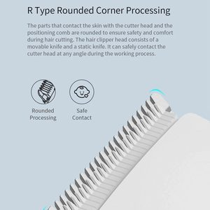 Image 4 - Boost USB Electric Hair Clipper Fast Charging Men Hair Trimmer Two Speed Ceramic Hair Cutter Rechargeable Children Hair Clipper