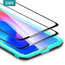ESR 2 قطعة/الوحدة شاشة Prorector ل شاومي mi 9 برو الزجاج المقسى ثلاثية الأبعاد غطاء كامل فيلم الهاتف واقية الزجاج ل شاومي mi CC9e