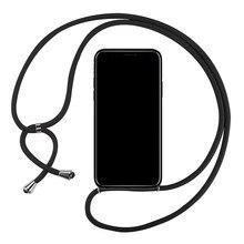 Мягкий чехол из ТПУ для Xiaomi Redmi S2 Y2 Go K20 K30 Pro Zoom 10X Pro 5G 4 Prime 4A 4X ремешок Ожерелье Веревка Шнур чехол для телефона