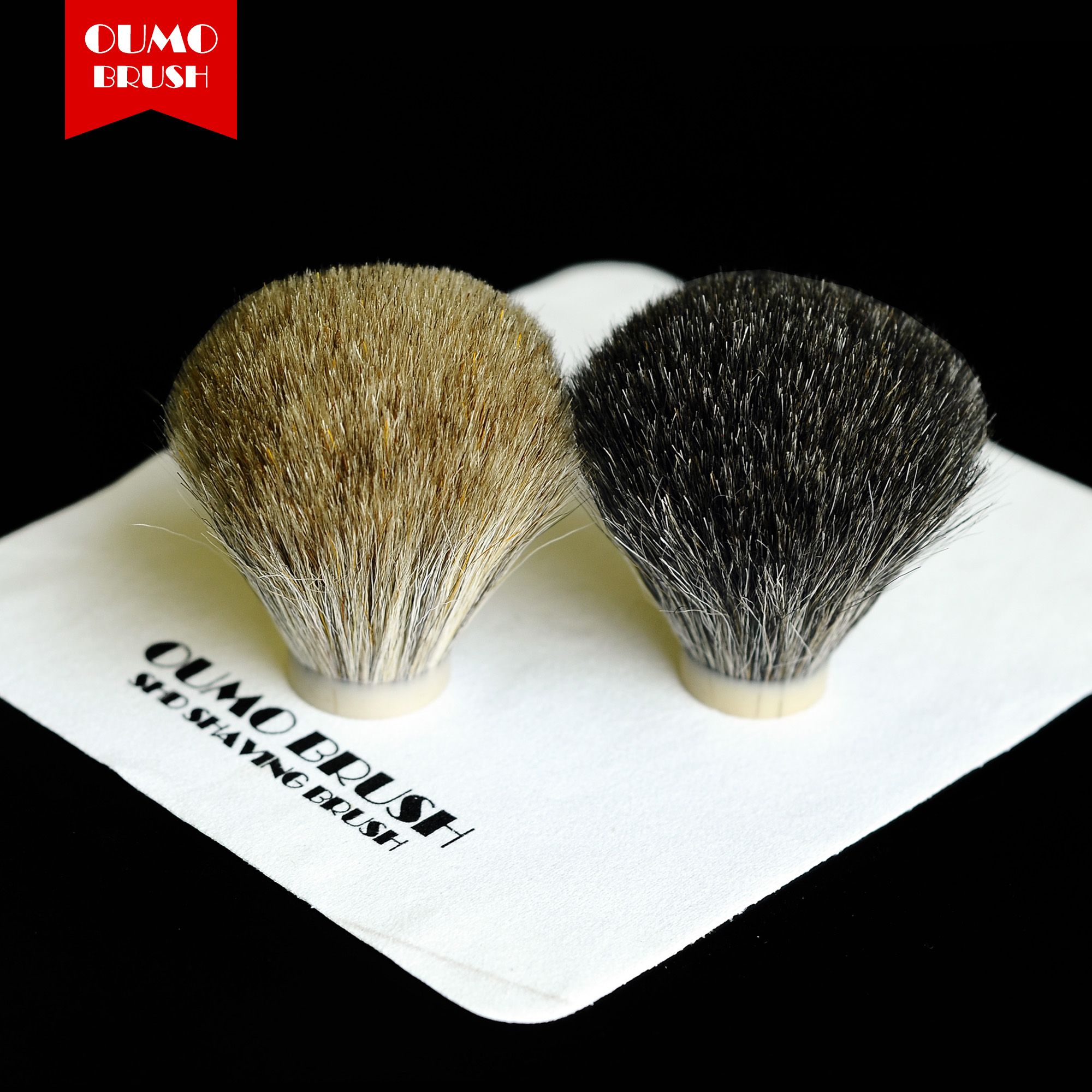 OUMO BRUSH-HORSE HAIR SHAVING BRUSH KNOTS