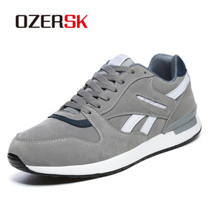 Image 1 - OZERSK Men Causal Shoes 2020 New Autumn Men Shoes Breathable Classic Flat Male Brand Footwear Fashion Sneakers Men Size 36~45