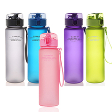 High quality Water Bottle 400ML 560ML Tour Outdoor Sport Lea