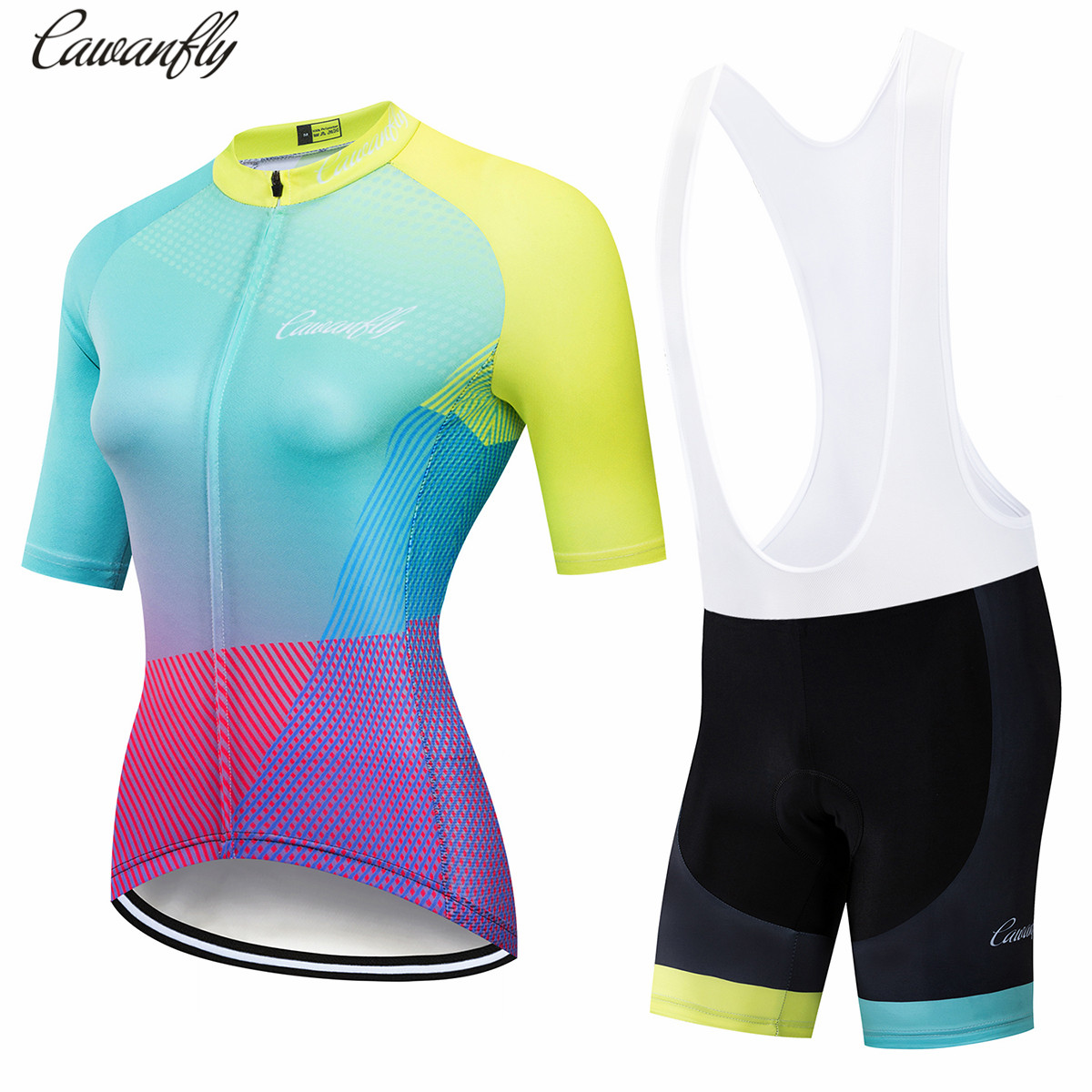 Banesto Pro Cycling Clothing Women Team Racing Sports Cycling Jersey Set Quick Dry MTB Bike Clothing Anti-UV Bicycle Clothing