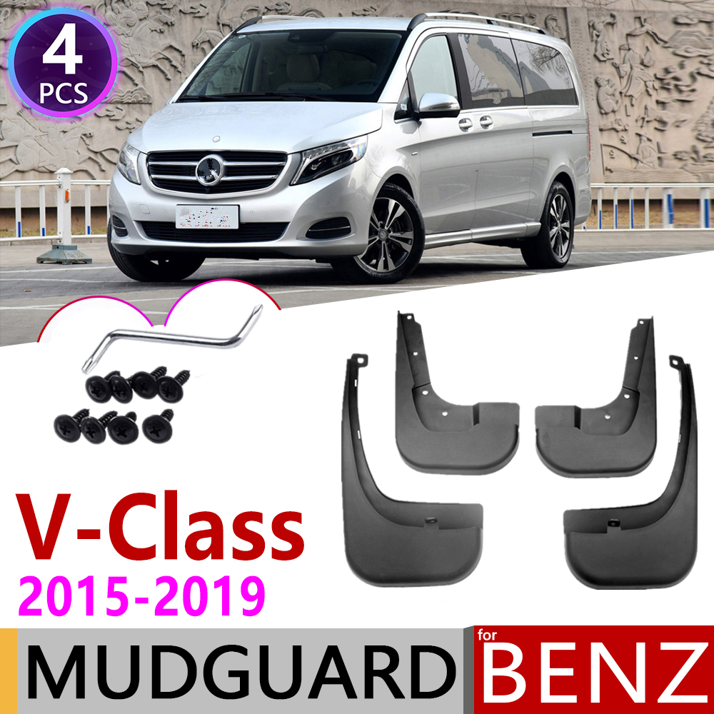For Mercedes Vito W447 2015 Fully Tailored 2 Piece Rubber Van Mat Set