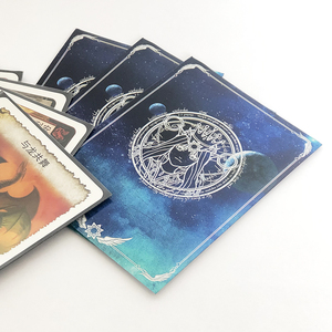 Image 2 - 100 stuks/partij 66x91mm Godin Oracle Phoebe Eris card mouwen bordspel kaarten protector Shields voor MGT PKM magical verzamelen