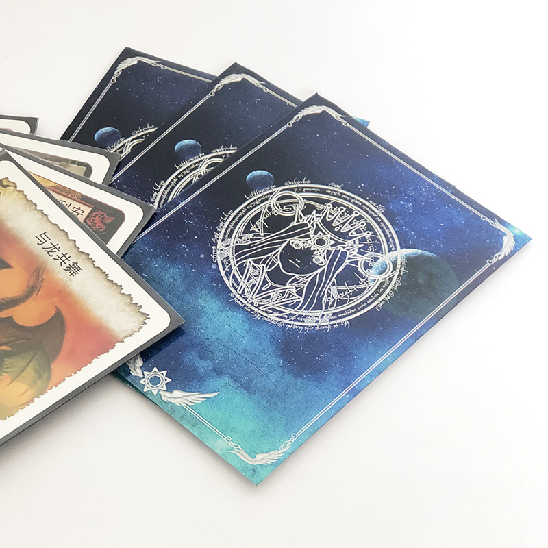 Image 2 - 100Pieces/Lot 66x91mm Goddess Oracle Phoebe Eris card sleeves board game cards protector  Shields for MGT  PKM Magical gatheringgames games and more gamesgame car gamegame game -