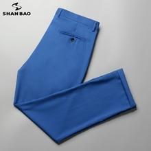 SHAN BAO 5XL 6XL 7XL 8XL 9XL Lightweight Loose Straight Suit Pants 2021 Spring/Summer Business Casual Men's Thin Pants